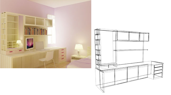 Apartment indani interior made to order furniture salon for Apartment design jakarta